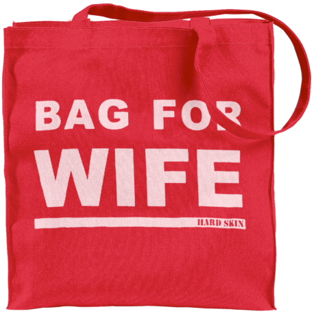 Bag For Wife Red Tote Bag