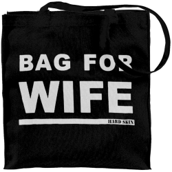 Bag For Wife Black Tote Bag